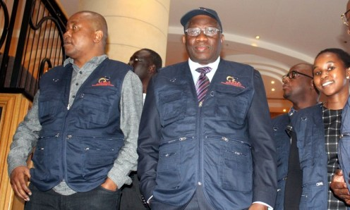 Jonathan leads observer mission to South African elections