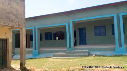 One of the new classrooms in Ubbe