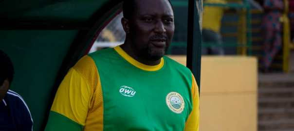 The Head Coach of Ogun State-owned football club, Gateway United, Hakeem Busari