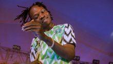 Nigerian singer, Naira Marley.