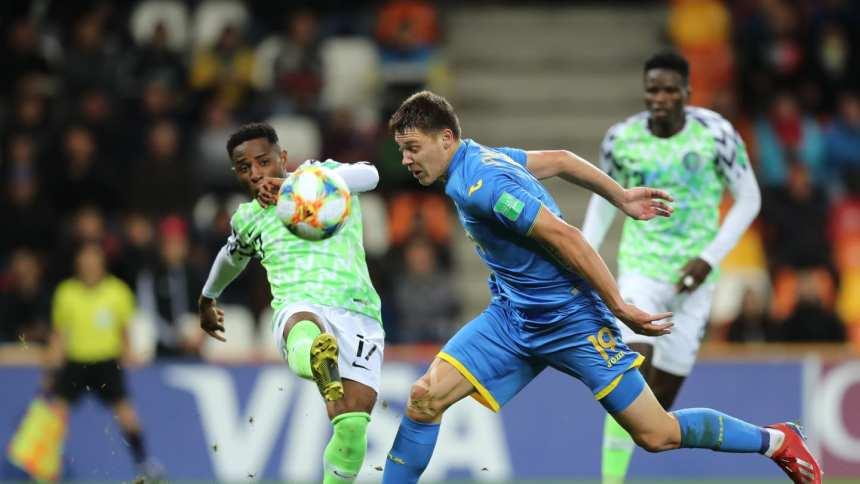Nigeria vs Ukraine [PHOTO CREDIT: FIFA.com]