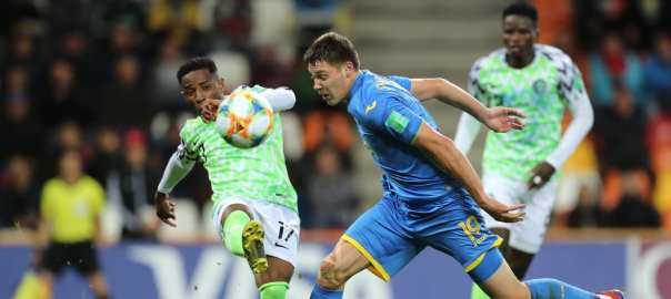 Nigeria vs Ukraine [PHOTO CREDIT: FIFA.com]