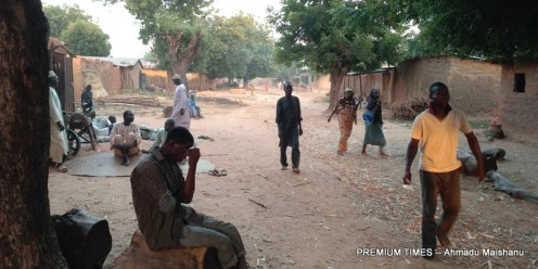 Villlage scene of Hara community
