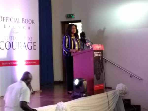 Chris Anyanwu, a former senator making a remark.