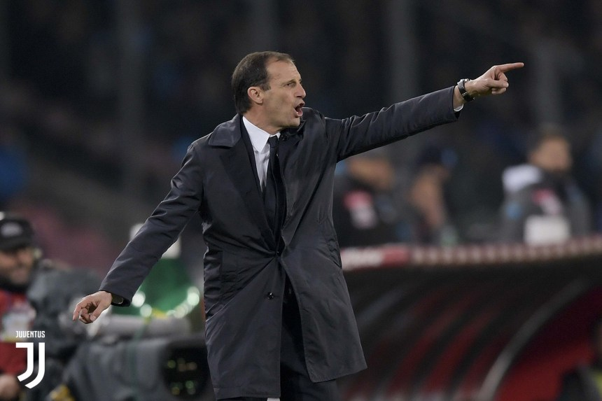 Massimiliano Allegri[PHOTO CREDIT: Juventus.com]