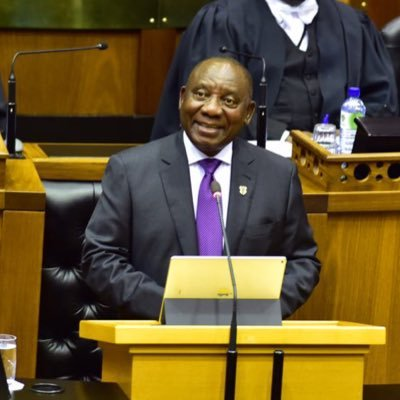 Cyril Ramaphosa[PHOTO CREDIT: Cyril Ramaphosa official Twitter page]