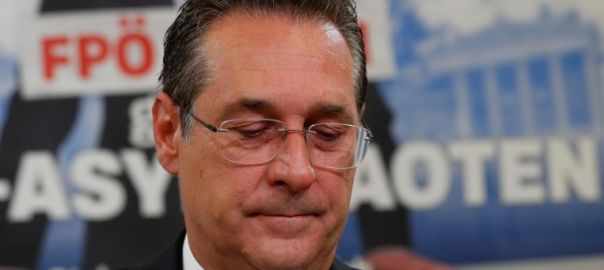 Austrian Vice-Chancellor Heinz-Christian Strache has been called to resign after footage surfaced of him purportedly discussing state contracts with a potential Russian backer in return for political support. PHOTO: Reuters (Photo Source: Strait Times)