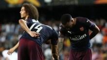 Lacazette and Aubameyang celebrates goal (Photo Credit: Reuters on Google)