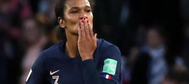 Women's World Cup, France Celebrates victory over South Korea (Photo Credit: bbc.com)