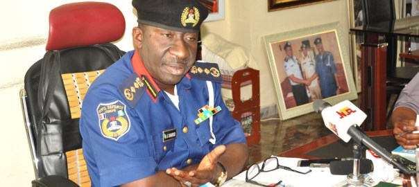 Abdullahi Gana, Commandant General (CG), Nigeria Security and Civil Defence Corps (NSCDC)