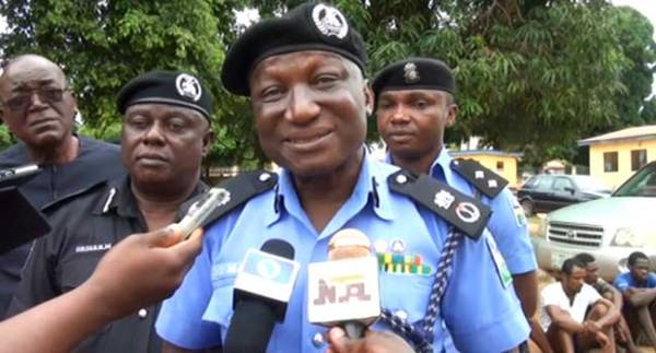 Ogun State Police Commissioner, Bashir Makama (Photo Credit: Channels TV)