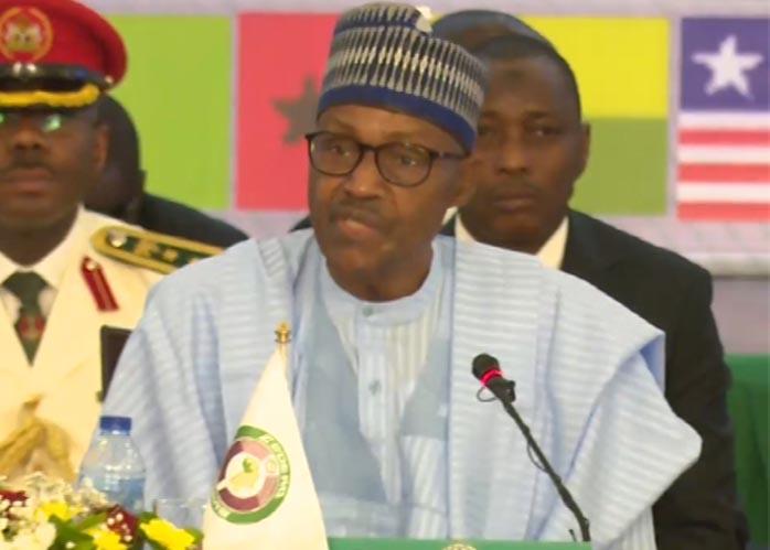 Don't allow terrorists destabilise West Africa, Buhari urges ECOWAS leaders