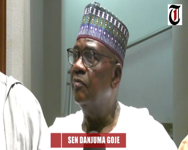 Goje Danjuma after meeting with Buhari