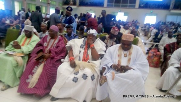 Stakeholders at the Security Summit where all governors from the South-West attended