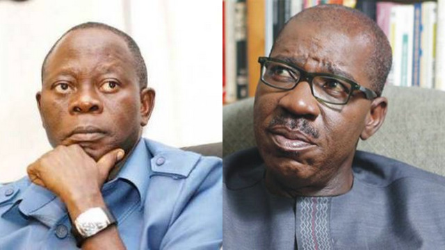 Edo Obaseki and Oshiomhole