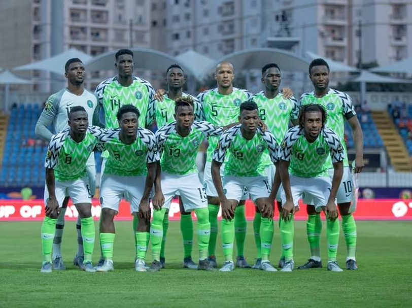 Super eagles [PHOTO CREDIT: NFF twitter handle]