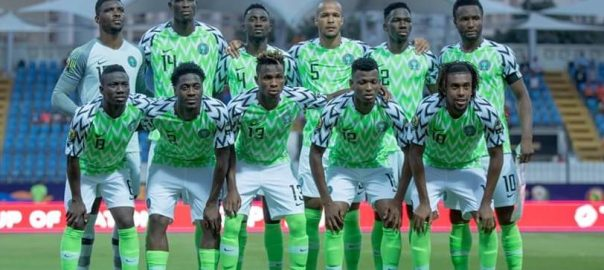 NIGERIA: Super eagles [PHOTO CREDIT: NFF twitter handle]
