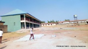 Ongoing renovation Kofar Hausa Primary School (Nasarawa)