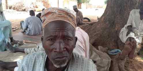 Isyaku Ibrahim 72-year-old CCT beneficiary in Gidan Tsika Community, Kiyawa LGA. Jigawa state.