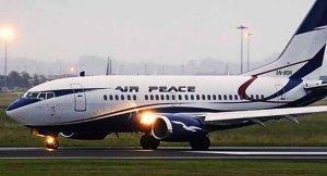 Air Peace Aircraft