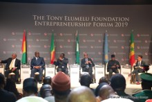 Session of Presidents and Heads of States at the Tony Elumelu Foundation Forum