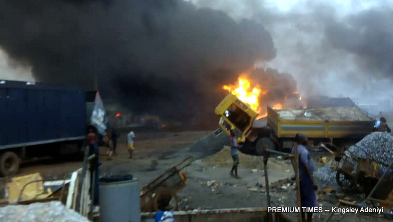 Six more victims die from Ijegun, Lagos pipeline fire - Premium Times