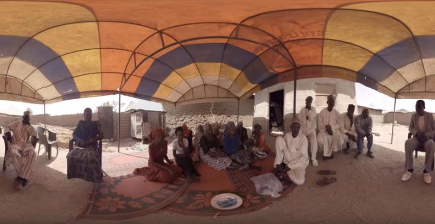 A scene from 'Daughters of Chibok' Joel Benson and JB Multimedia Studio