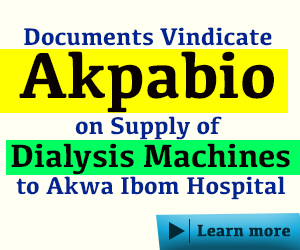 Akpabio advert