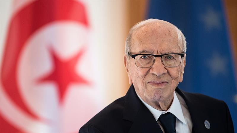 President Beji Caid Essebsi was Tunisia's first democratically elected leader [File: Bernd von Jutrczenka
