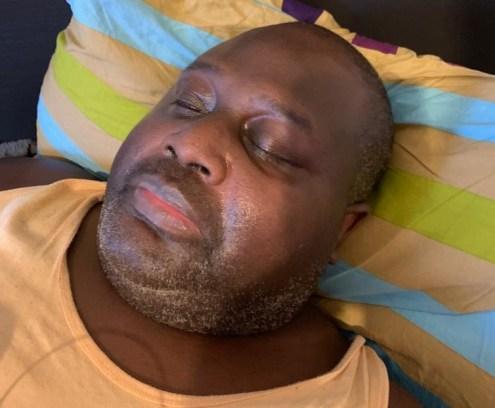 CSP Dauda Buba Fika in London Hospital