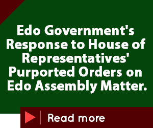 Edo Gov's advert