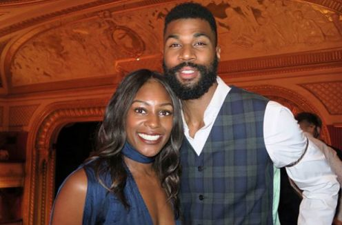 High jumper Mike Edwards is married to British Olympian Perri Shakes-Drayton