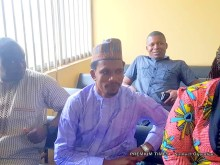 Elisha Abbo at the Chief Magistrate's Court in Zuba