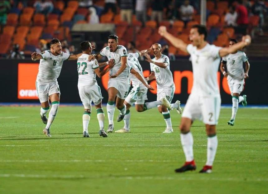 Algeria celebrates