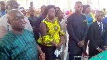Journalists at the church thanksgiving service, Ibesikpo-Asutan, Akwa Ibom
