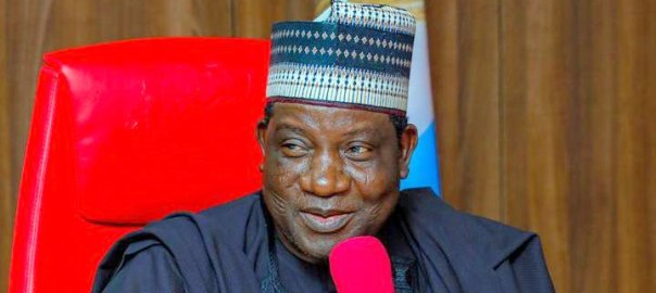 Gov. Simon Lalong of Plateau State. [PHOTO CREDIT: Official Twitter handle of Gov. Lalong]