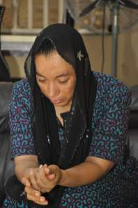 The widow of the late Colonel Ken Elemele
