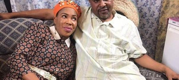 Fathia Williams and ex-husband Saheed Balogun