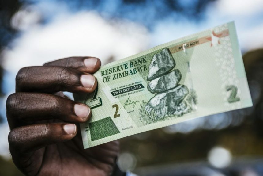 Zimbabwe's interim RTGS currency