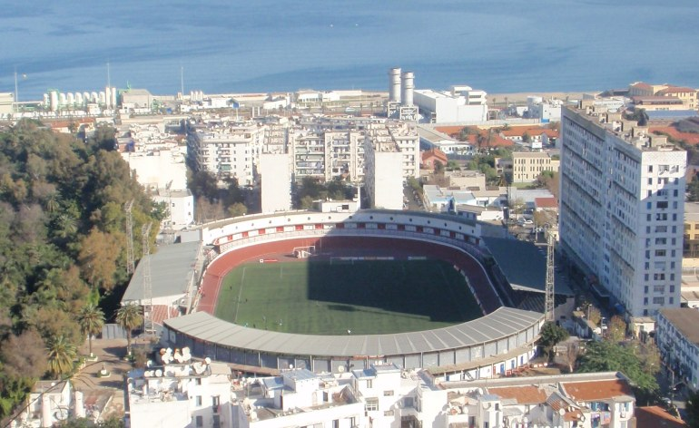 The August-20 Stadium in Algiers.. Photo: Aziouez/Wikimedia Commons