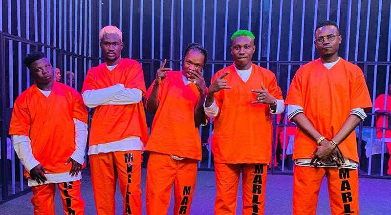 A scene from Naira Marley's latest music video titled Soapy