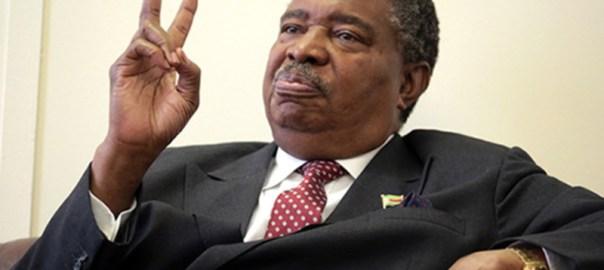 Former Zimbabwe Vice President Phelekezela Mphoko