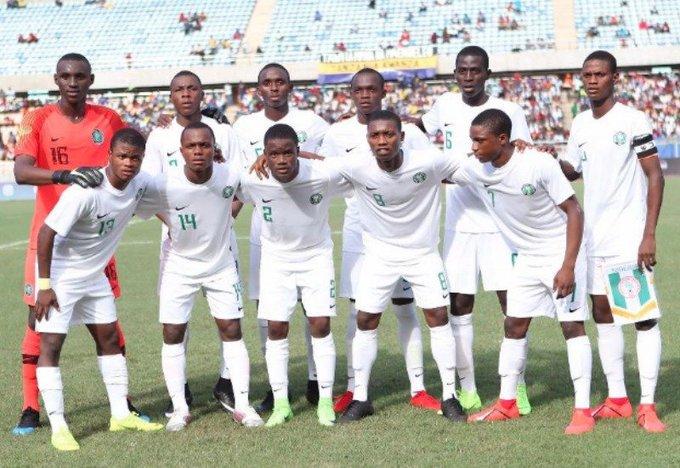 Nigeria: Golden Eaglets-line up