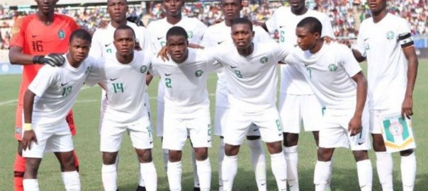 Nigeria: Golden Eaglets-line up