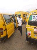 Danfo buses in Lagos