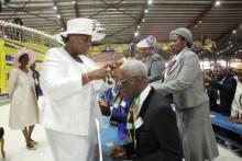The pastors ordination at the RCCG Holy Ghost Congress (Segun Komolafe)