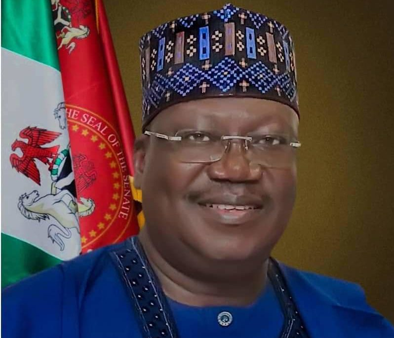 PRESIDENT OF THE SENATE: Ahmad Ibrahim Lawan Ph.D, CON
