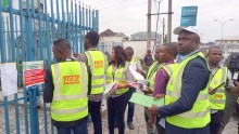 Tax officials seal off Ecobank in Uyo, Akwa Ibom state