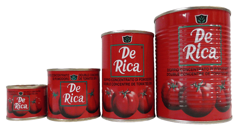 FOOD: Tin tomato used to illustrate the story.