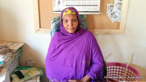 Head Teacher at Waziri Zayyala Science Model School Katsina, Rabi Suliaman.